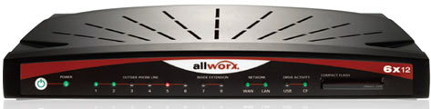 Used Allworx 6x12 IP Phone System