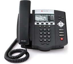 Used Polycom SoundPoint IP 450 Phone 2201-12450-001