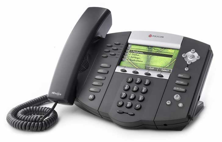 New Polycom SoundPoint IP 670 2200-12670-001 Phone