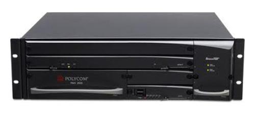 Used Polycom RMX 2000 VRMX2710HDR Multimedia Video Conferencing Platform